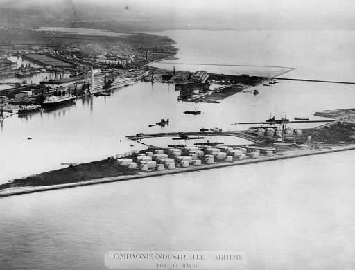 Le Havre Terminals in 1920